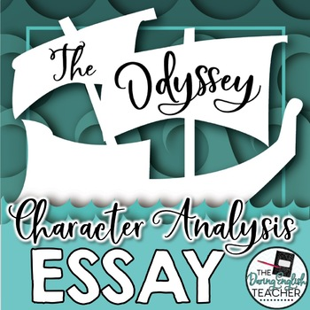 The Odyssey Character Analysis Graphic Organizers - Pinterest