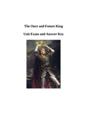The Once and Future King Unit Exam and Answer Key