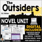 OUTSIDERS - A Common Core Novel Unit