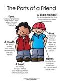 The Parts of a Friend  {Melonheadz Clipart Version}