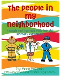 The People In My Neighborhood Math and Literacy Unit