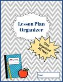 The Perfect Lesson Plan Organizer!