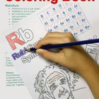 The Periodic Table of Elements Coloring Book (Sample)