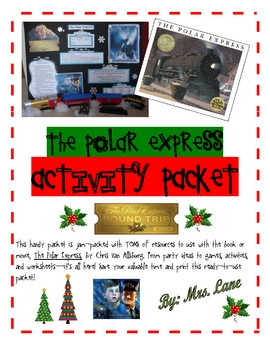 The Polar Express Activity Packet (JAM-PACKED!)