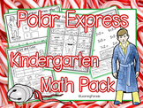 Polar Express Kindergarten Math Printables