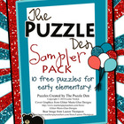The Puzzle Den Sampler Pack Freebie