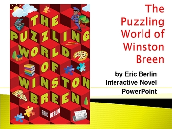 """""""The Puzzling World of Winston Breen"""", by E. Berlin, Novel"""