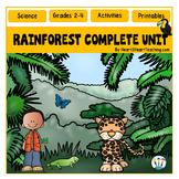 The Rainforest Unit Print-n-Go: A Complete Nonfiction Reso