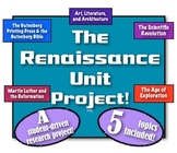 Renaissance Unit Project! A student-driven research projec