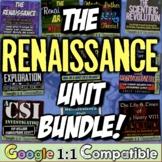 Renaissance Bundle! 8 resources for Renaissance, Reformati