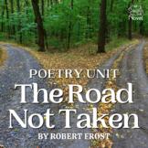 Road Not Taken by Robert Frost Activities, Quiz