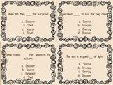 The Secret Life of Trees Quiz Quiz Trade Cards Harcourt Tr