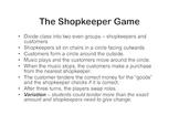 The Shopkeeper Game