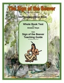 The Sign of the Beaver  Whole Book Test