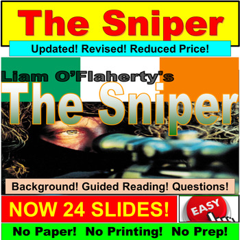 an analysis of the short stories the sniper and flight Text analysis worksheets these worksheets incorporate both fiction and non-fiction texts and are designed to help students practice some of the key skills good readers need to improve their comprehension and critical thinking skills.