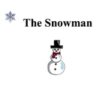 """The Snowman"" poem and SMART board presentation"