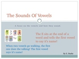 The Sounds Of Vowels