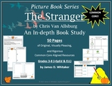 The Stranger Chris Van Allsburg Book Study Common Core