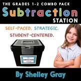 The Subtraction Station {Grades 1-2 Combo Pack}