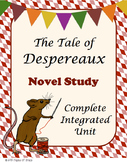 The Tale of Despereaux Novel Study-Complete Integrated Unit