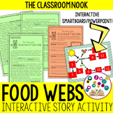 The Tale of the Grassland Food Web - Interactive Story and