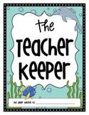 The Teacher Keeper {Organizational Binder in Ocean Theme}