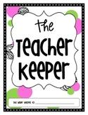 The Teacher Keeper {Organizational Binder in Zebra, Pink,