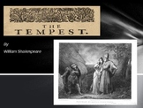 The Tempest by Shakespeare - Background Info Power Point