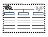 The Three Branches of Government Prewrite Graphic Organizer