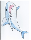 The Three Little Fish & The Big Bad Shark Characters for r