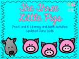 The Three Little Pigs Pre-K Literacy and Math Activities