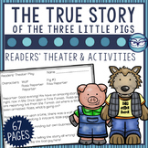 The True Story of the Three Little Pigs Activity Bundle