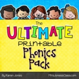 The ULTIMATE Printable Phonics Pack