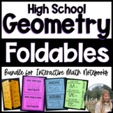 The Ultimate GEOMETRY Foldable Bundle!!!