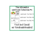 The Ultimate Math Mat Collection #4 on CD: Ten Packs #9, #10, #12
