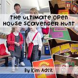 Open House Back to School Scavenger Hunt Pack