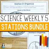 The Ultimate Science Weekly Five Stations Resource
