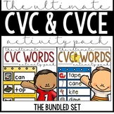 The Ultimate Spelling Pattern Bundle - CVC & CVCE Puzzles,