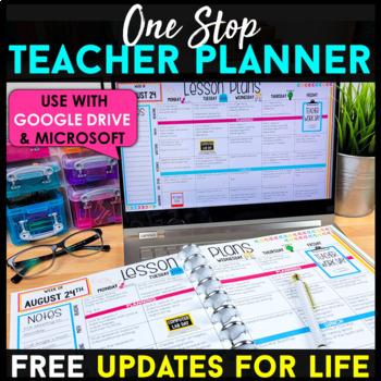 Teacher Binder {Editable} FREE Updates for Life!