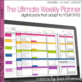 Lesson Plan Templates Teacher Binder Plan Book - Ultimate