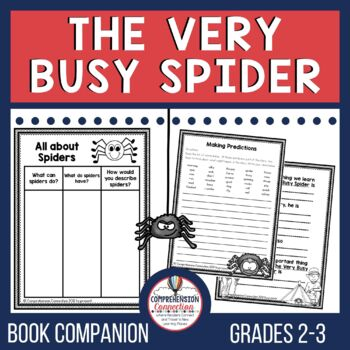 Spider Spider Oh My! Guided Reading Unit