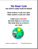 The Water Cycle Song Handout
