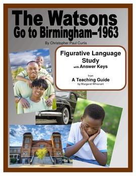 The Watsons Go to Birmingham--1963--Figurative Language