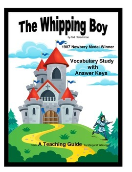 Whipping Boy Vocabulary Study