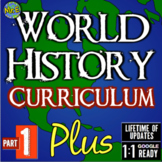 World History Mega Unit Bundle! 10 World History Units & 1