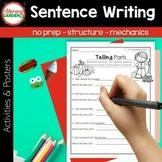 SENTENCES {The Write Stuff for Beginning Writers}