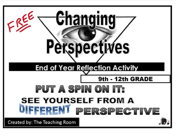 End of Year Reflection Activity - Changing Perspectives (High School)