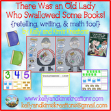 There Was an Old Lady Who Swallowed Some Books! {retelling