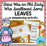 There Was an Old Lady Who Swallowed Some Leaves- Sequence