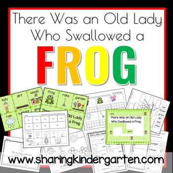 There Was an Old Lady Who Swallowed a Frog Extention Activities